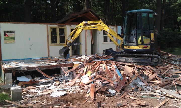 1st impression landscape and construction company llc for Demolition wood for sale